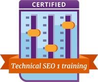Danny Margagliano successfully completed the Technical SEO I course!