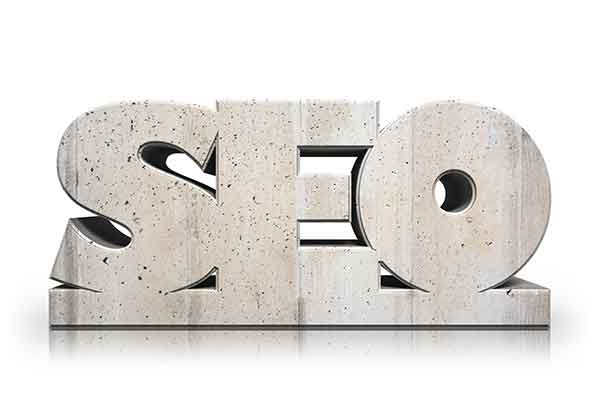 Concrete SEO Sculpture. SEO Tips That Local Realtors Can Do Themselves.